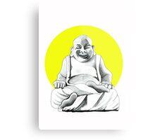 Happy Buddha Metal Print
