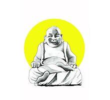 Happy Buddha Photographic Print