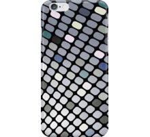 Silver Touch; Abstract Digital Vector Art iPhone Case/Skin