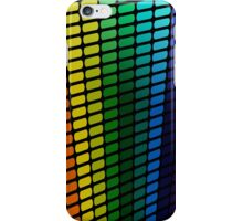 Rainbow Perspective; Abstract Digital Vector Art iPhone Case/Skin