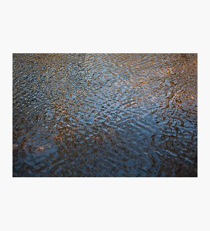 reflections, glen tanar Photographic Print