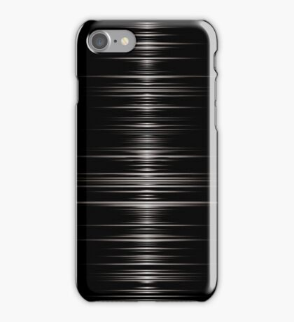 Wave; Abstract Digital Vector Art iPhone Case/Skin