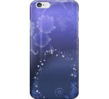 Purple Celebration; Abstract Digital Vector Art iPhone Case/Skin