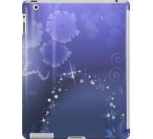 Purple Celebration; Abstract Digital Vector Art iPad Case/Skin
