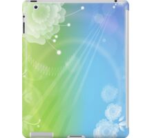 Day & Night; Abstract Digital Vector Art iPad Case/Skin
