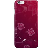 Deepy Romantic; Abstract Digital Vector Art iPhone Case/Skin