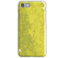 Grungy Clean Green; Abstract Digital Vector Art iPhone Case/Skin