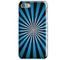 Trippy Night Time; Abstract Digital Vector Art iPhone Case/Skin