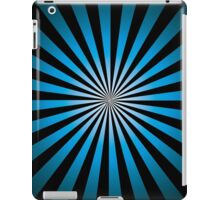 Trippy Night Time; Abstract Digital Vector Art iPad Case/Skin