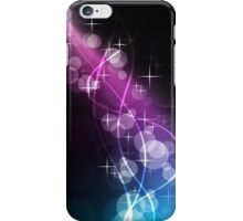Musically Numb; Abstract Digital Vector Art iPhone Case/Skin