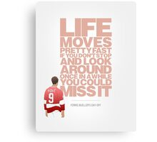 Ferris Bueller's Day Off - Cameron Canvas Print