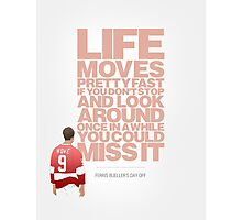 Ferris Bueller's Day Off - Cameron Photographic Print
