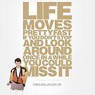 Ferris Bueller's Day Off - Ferris by chooface