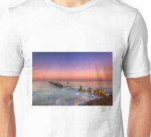 Bembridge Harbour Wave Break Unisex T-Shirt