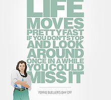Ferris Bueller's Day Off - Sloane by chooface