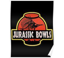 Jurassic Bowls Poster
