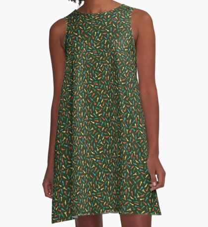 Spoons Forks and Knives A-Line Dress