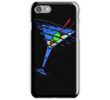 Vintage Neon Martini iPhone Case/Skin