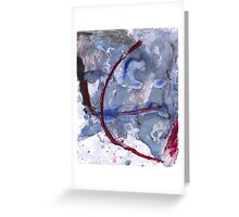 Oil and Water #116 Greeting Card