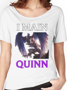 I main Quinn - League of Legends Women's Relaxed Fit T-Shirt
