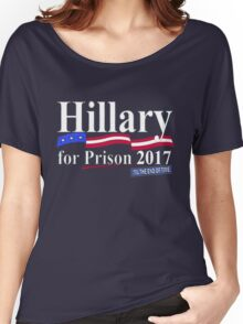 Hillary til the end of time 2017 Women's Relaxed Fit T-Shirt