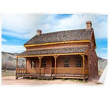 Russell Home - Grafton Ghost Town - Utah Poster