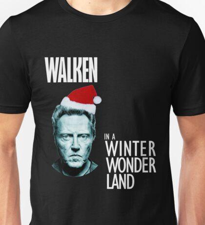 Walken Wanderland for Christmas!  Unisex T-Shirt