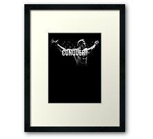 Arnold Schwarzenegger Mr Olympia Conquer  Framed Print