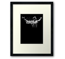 Arnold Schwarzenegger Mr Olympia Conquer  Framed Print