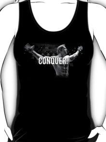 Arnold Schwarzenegger Mr Olympia Conquer  T-Shirt