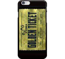 willy wonka golden ticket 2 iPhone Case/Skin