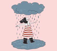 Happy when it rains Kids Tee