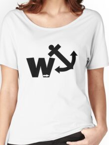 Funny wanker Women's Relaxed Fit T-Shirt