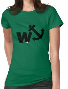 Funny wanker Womens Fitted T-Shirt