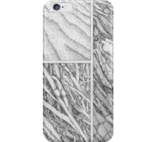 Sand, seaweed and stone iPhone Case/Skin