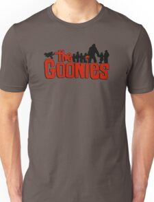 The Goonies logo and characters Unisex T-Shirt