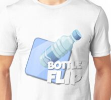 Water Bottle Flip Logo Unisex T-Shirt