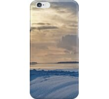 Late Afternoon Glow - Fort Anne in Winter iPhone Case/Skin