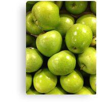 Granny Smith's Apple Canvas Print