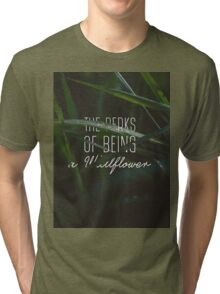 The Perks of Being a Wallflower  Tri-blend T-Shirt