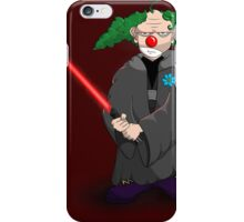 darth clown iPhone Case/Skin