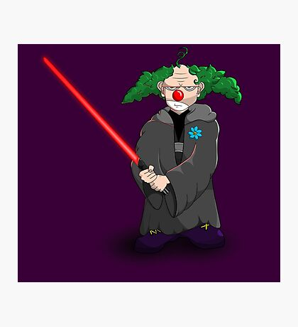 darth clown Photographic Print