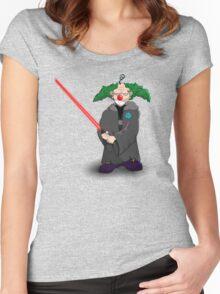 darth clown Women's Fitted Scoop T-Shirt