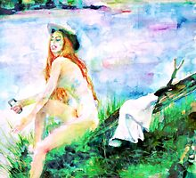 WATERCOLOR WOMAN.21 by lautir