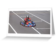 Go-cart Greeting Card