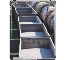 transportation of goods by rail iPad Case/Skin