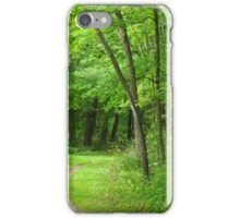 The Wooded Path iPhone Case/Skin