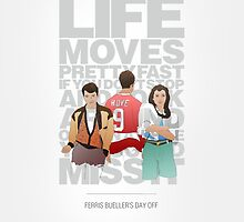 Ferris Bueller's Day Off - The Trio by chooface