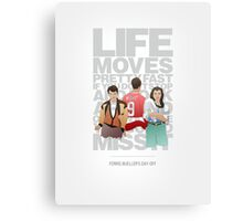 Ferris Bueller's Day Off - The Trio Canvas Print