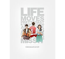 Ferris Bueller's Day Off - The Trio Photographic Print